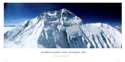 Mount Everest Panorama Mount Everest Poster Panorama