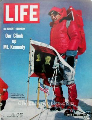 Life Magazine April 9 1965 Our Climb Up Mt Kennedy By